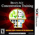 Nintendo 3DS - Brain Age: Concentration Training
