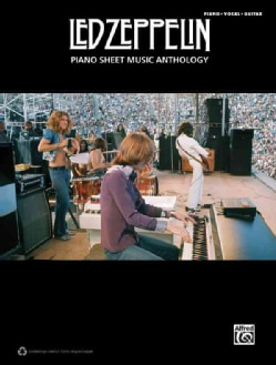 Led Zeppelin: Piano Sheet Music Anthology: Piano  /Vocal / Guitar (Paperback)