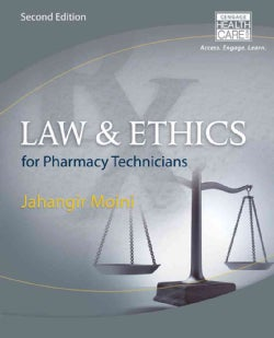 Law & Ethics for Pharmacy Technicians (Paperback)