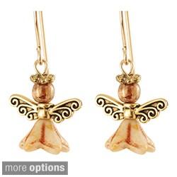 'Peace on Earth' Angel Earrings