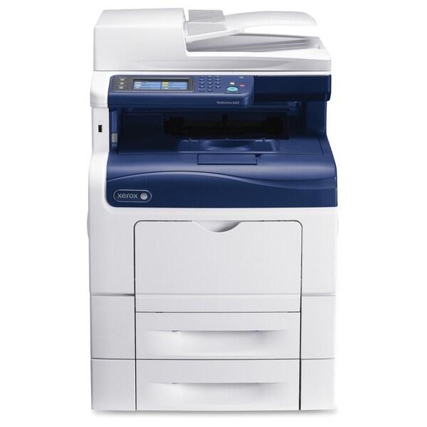 Xerox WorkCentre 6605N Laser Multifunction Printer - Color - Plain Pa