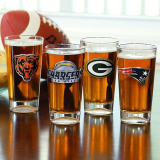 NFL Pint Glasses (Set of 2)
