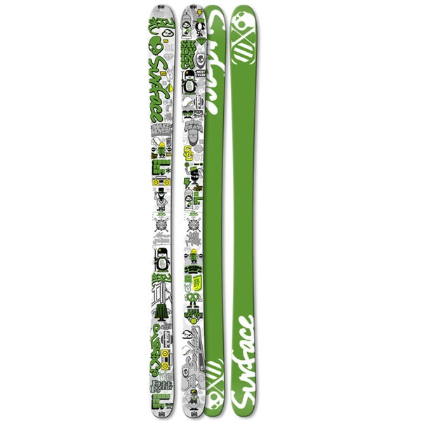 Surface 'Next Time' Skullcandy Youth Skis (145 cm)