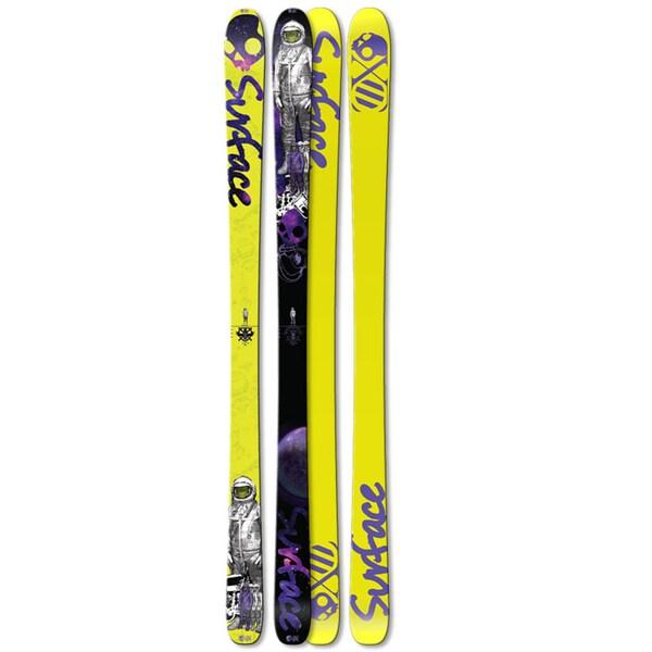 Surface 'No Time' Skullcandy Skis (182 cm)