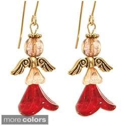'Shekinah' Angel Earrings