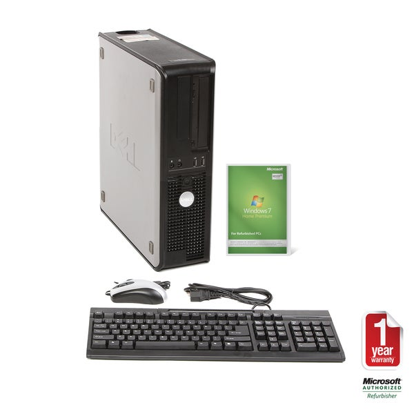 Dell GX520 2.8GHz 250GB DT Computer (Refurbished)