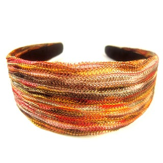 Crawford Corner Shop Brown Gold Headband