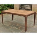 International Caravan Resin Wicker Outdoor Table