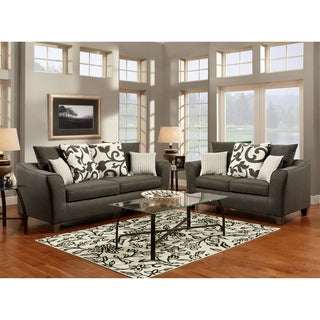 Furniture of America Grizelda 2-piece Sofa Set