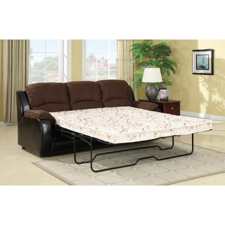 Furniture of America Lawrence Queen-size Microfiber Futon