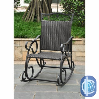 International Caravan International Caravan Lisbon Wicker Rocking Chair
