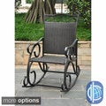 International Caravan Lisbon Wicker Rocking Chair