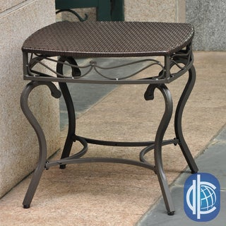 International Caravan International Caravan Lisbon Resin Wicker Outdoor Table