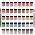 Shany 40-Piece Pearl & Glitter Mineral Base Eye Shadow Set