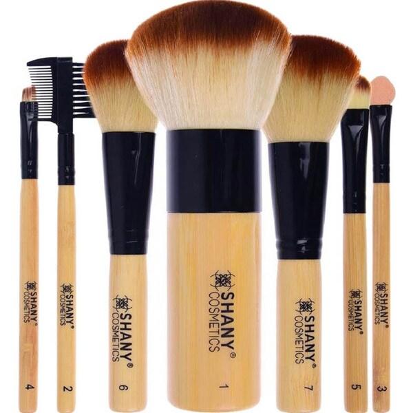 SHANY 7-piece Bamboo Brush Set