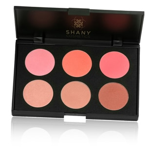 Shany Cosmetics 6-Color Amber Peach Contour and Blush Palette