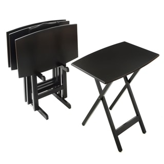Bianco Collection Furniture Black Tray Table