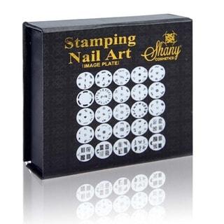 SHANY Nailart Polish Stamping Manicure Image Plates with Storage