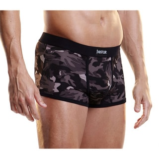 I-Image Grey Camo Microfiber Trunks (Set of 2)