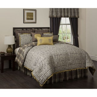 Jasper 4-piece Comforter Set and Euro Sham Separate