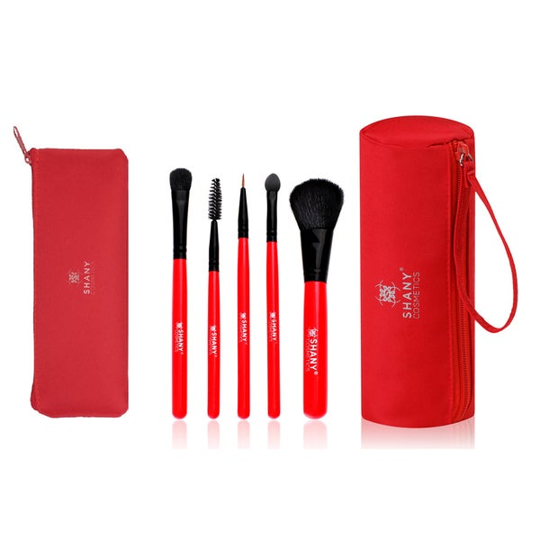 Shany Urban Gal Collection 5-piece Brush Kit with 2 Cases