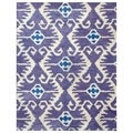 Safavieh Handmade Wyndham Lavender New Zealand Wool Rug