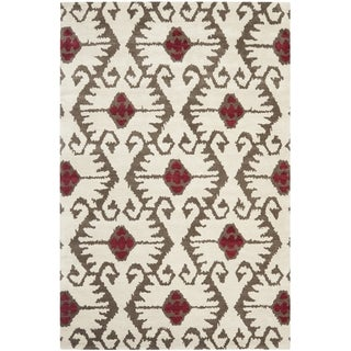 Safavieh Handmade Wyndham Ivory New Zealand Wool Rug