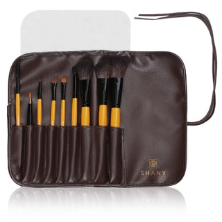 Shany Urban Gal 9-piece Natural Makeup Brush Set