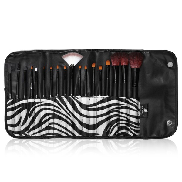 Shany Urban Gal 18-piece Pro Makeup Natural Bristle Brush Kit