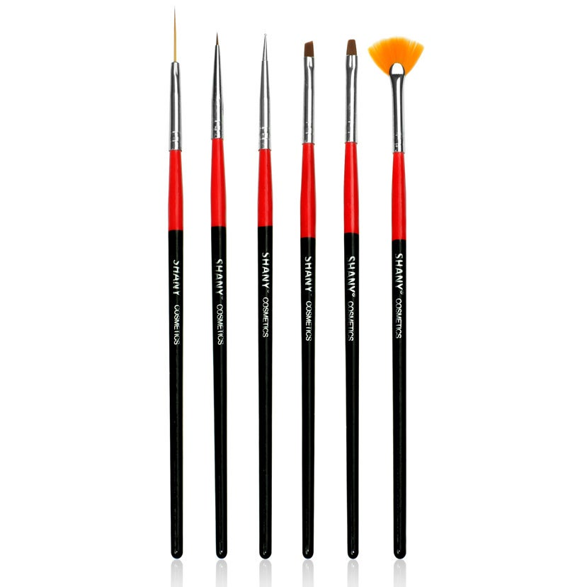 SHANY Cosmetics Shany Professional Synthetic Nail Brush 6-piece Set at Sears.com