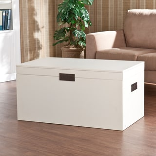 Upton Home Barclay White Trunk Cocktail Table