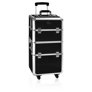Shany Pro Rolling Trolley Makeup Case