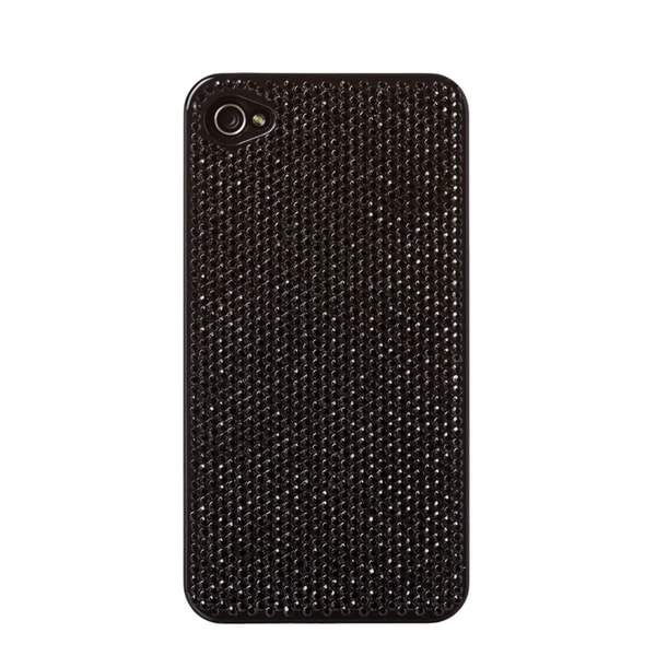 2ME STYLE 'DD046' Black Crystal iPhone 4/4S Cover