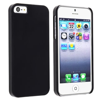 BasAcc Protex Solid Black Snap-on Case for Apple iPhone 5/ 5S