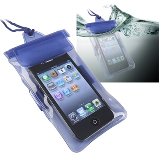 INSTEN Blue Universal with Armband Waterproof Bag for Apple iPhone 5/ 5S