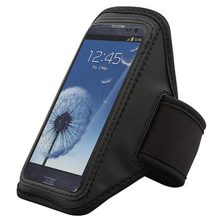 INSTEN Black Armband for Apple iPhone 5