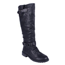 black-rain-boots-for-women-genuine-leather-horse-hair-women-long-boots