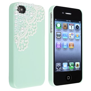 BasAcc Mint Green Snap-on Case for Apple� iPhone 4/ 4S