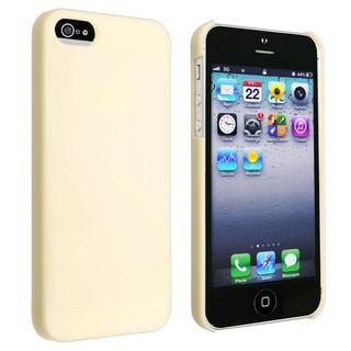 BasAcc Yellow Ice-cream Snap-on Case for Apple� iPhone 5