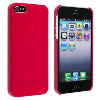 BasAcc Red Ice-cream Snap-on Case for Apple� iPhone 5