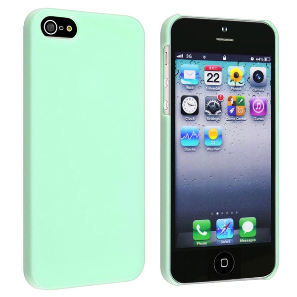 INSTEN Mint Green Ice-cream Snap-on Phone Case Cover for Apple iPhone 5/ 5S