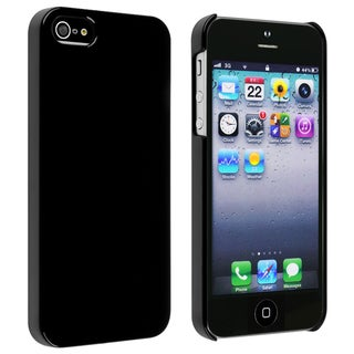 BasAcc Black Ice-cream Snap-on Case for Apple� iPhone 5/ 5S