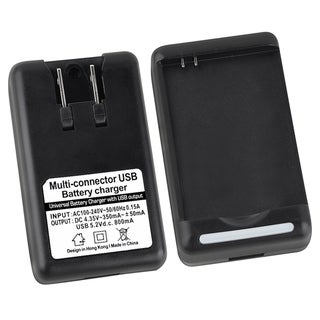 BasAcc Battery Desktop Charger for Samsung Galaxy S III/ S3/ S4/ S IV