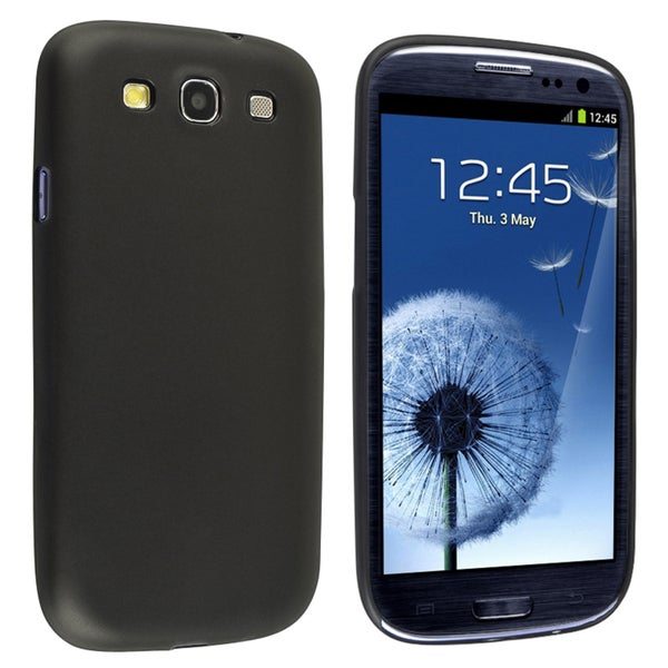 BasAcc Clear Smoke Slim Snap-on Case for Samsung© Galaxy S III/ S3
