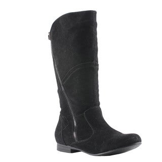 Elegant by Beston Women's 'Meley-4' Black Boots