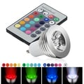 INSTEN Warm White GU10 LED Light Bulb with Remte Infrared Remote