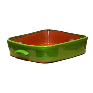 Terafeu Green Clay 4.5-quart Square Baker