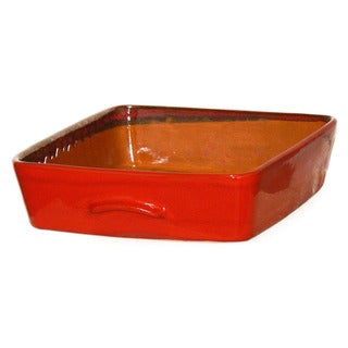 Terafeu Red 4.5-quart Square Baker