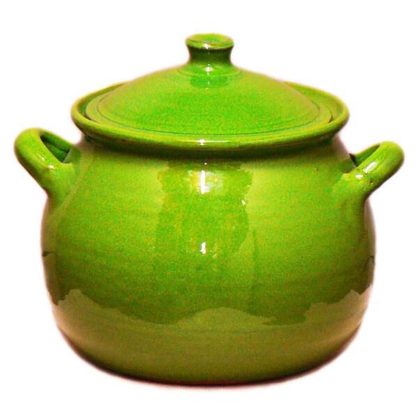 Terafeu Green 4-quart Casserole Dish