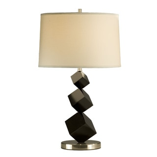 Cubes Standing Linen Shade Table Lamp